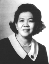 The late Mrs. Leticia Gonzales - Tenazas in her younger years