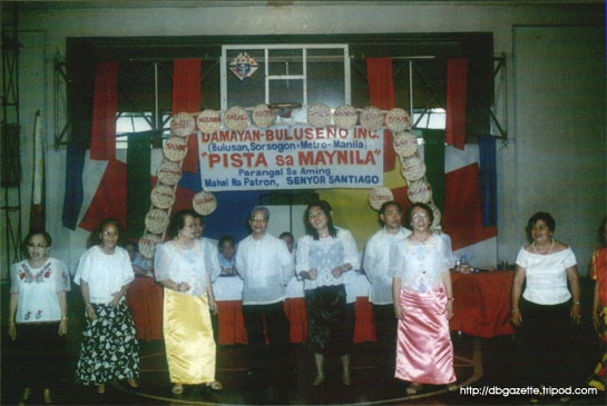 Members of the DBI choir with their Bicol medley